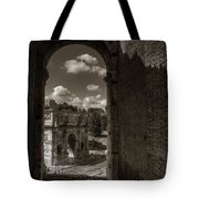 Arch Of Constantine From The Colosseum Tote Bag