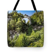 Arch Rock Mackinac Island Michigan Tote Bag