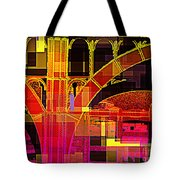Arch Three - Architecture Of New York City Tote Bag