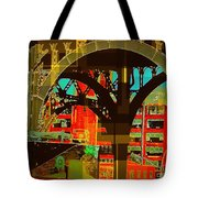 Arch Two - Architecture Of New York City Tote Bag