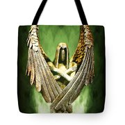 Archangel Azrael Tote Bag