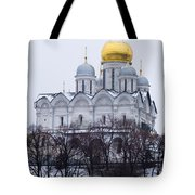 Archangel Cathedral Of Moscow Kremlin - Featured 3 Tote Bag