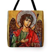 Archangel Michael Icon Tote Bag