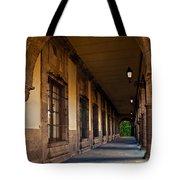 Arched Corridor Tote Bag