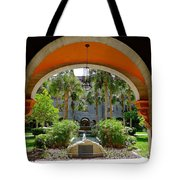 Arched Courtyard Tote Bag