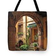 Arched Doorway In Kayserberg Tote Bag