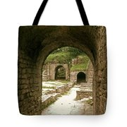 Arched Entrance To Fiesole Theatre Tote Bag
