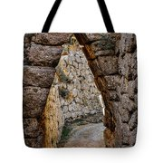 Arched Medieval Gate Tote Bag