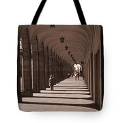 Arched Walk Way       Tote Bag