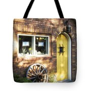 Arched Yellow Door Tote Bag