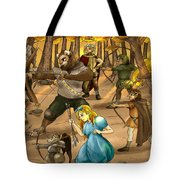 Archery In Oxboar Tote Bag