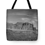 Arches 1 Panorama Bw Tote Bag