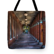 Arches And Columns Tote Bag
