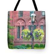 Arches And Potted Plants Tote Bag