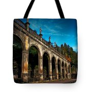Arches And Statues Tote Bag