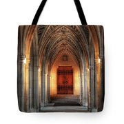 Arches At Duke Chapel Tote Bag