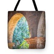 Arches At Mission San Juan Capistrano Tote Bag