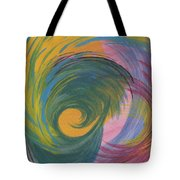 Arches  Swirls Tote Bag