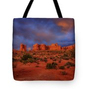 Arches Last Light Tote Bag by Greg Norrell
