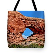 Arches National Park Painting Tote Bag