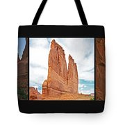Arches National Park Panel Tote Bag