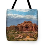 Arches National Park Pano Tote Bag
