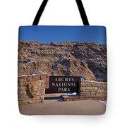 Arches National Park Utah Tote Bag