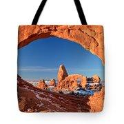 Arches Sandstone Frame Tote Bag