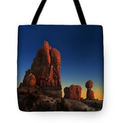 Arches After Sunset Tote Bag