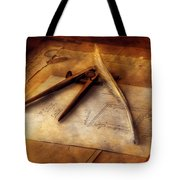 Architect - The Draftsman Tote Bag by Mike Savad