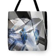 Architectural Abstract Tote Bag