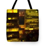 Architectural Fantasy - Perspective And Color Tote Bag