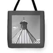 Architectural Gray Tote Bag