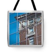 Architectural Juxtaposition Tote Bag