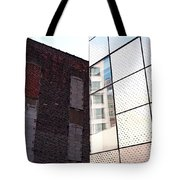 Architectural Juxtaposition On The High Line Tote Bag