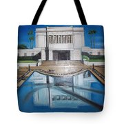 Architectural Landscape Tote Bag