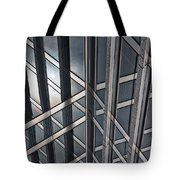 Architectural Lines Tote Bag
