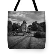 Architectural Treasure Bw Tote Bag