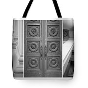 Architectural Triptych Tote Bag