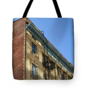 Architectural Watercolor Effect Tote Bag