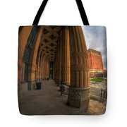 Architecture And Places In The Q.c. Series 03 City Hall Tote Bag