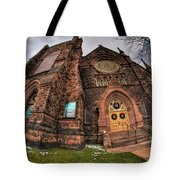 Architecture And Places In The Q.c. Series 03 Trinity Episcopal Church Tote Bag
