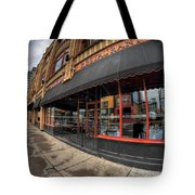 Architecture And Places In The Q.c. Series Bacchus Restaurant Tote Bag
