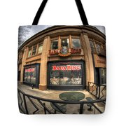 Architecture And Places In The Q.c. Series Badabing Tote Bag