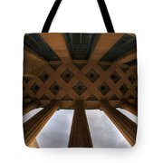 Architecture And Places In The Q.c. Series City Hall Tote Bag