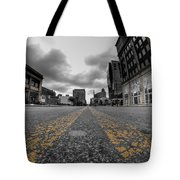 Architecture And Places In The Q.c. Series Delaware And Chippewa Tote Bag