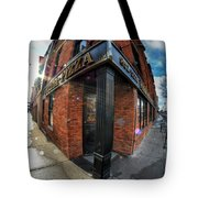Architecture And Places In The Q.c. Series Prima Pizza 01 Tote Bag