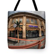 Architecture And Places In The Q.c. Series Purple Monkey Tote Bag