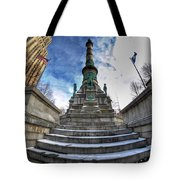 Architecture And Places In The Q.c. Series  Soldiers And Sailors Monument In Lafayette Square Tote Bag