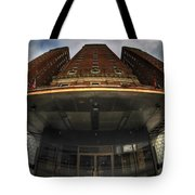 Architecture And Places In The Q.c. Series The Statler Towers Tote Bag